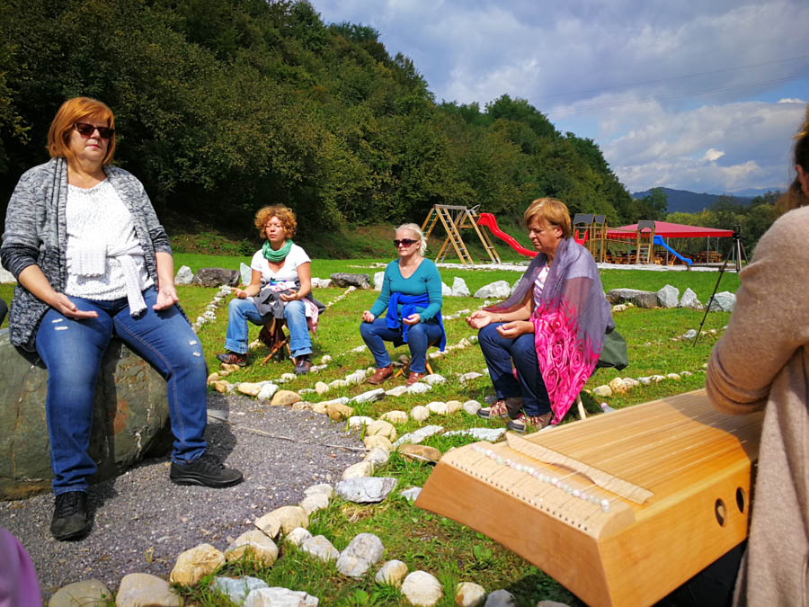 Sound Meditation within the Energy Park Installation at the Bosnian Pyramids, Visoko